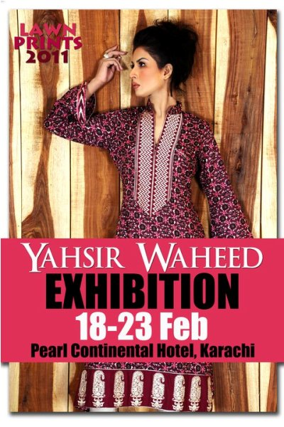 Yahsir Waheed Lawn Prints-2011