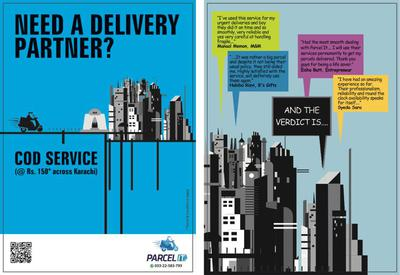 Brochure and Reviews of Parcel It!