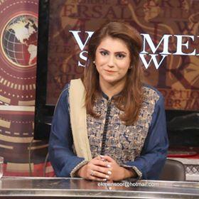 Asra Jamshed-TV Host