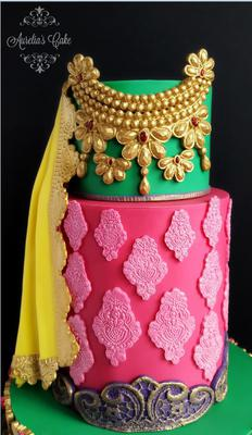 Pakistani Bride Dress by Auriela