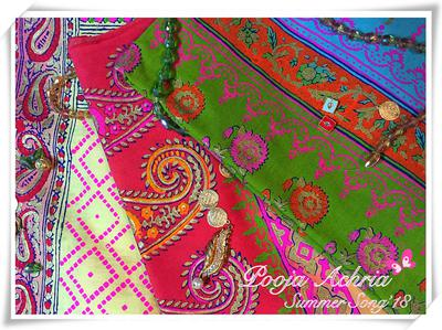 Block Print Fabric by Pooja's