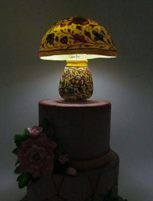 Camel Skin Lamp, Pakistan by Maria Teresa From Italy