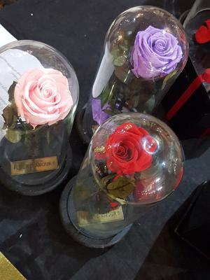 Roses in Jars by Fleur D'Amourpk