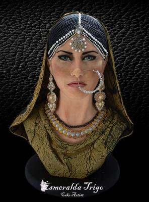 Pakistani Bride by Esmeraldo Trigo from Spain