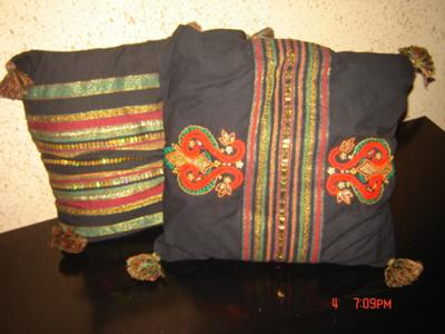 hand made cushions