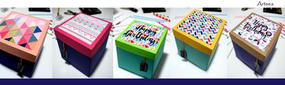 Explosion Boxes by Artsea