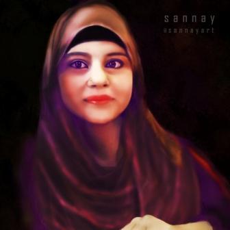 Self Portrait by Sannayart