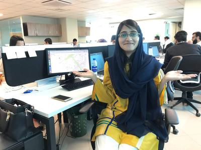 Sadaf Zohra-Female Back-end Software Developer of Pakistan
