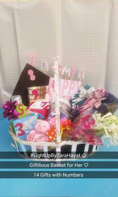 Gift Basket from Light-up by Zara Hayat