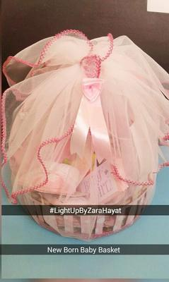 Baby Stuff Basket Light-up by Zara Hayat