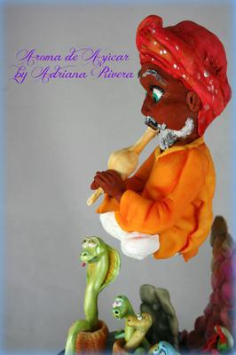 Snake Charmer of Pakistan by Adriana Rivera from Spain
