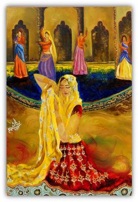 Dancing Girls by Ghanasha's Art