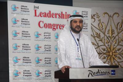 As Key Note speaker on Leadership congress