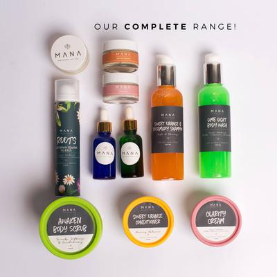 Natural Skincare Products by MANA