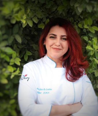 Nukhet Dora of Nuku's Cakes & Cookies from Turkey