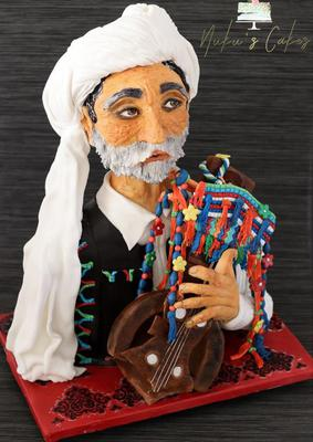 Old Baloch Singer by Nukhet Dora