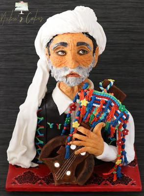 Old Baloch Singer-1 by Nukhet Dora