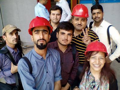 Industrial shoot for Government of Pakistan
