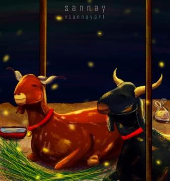 Eid ul Adha Fan Art by Sannayart