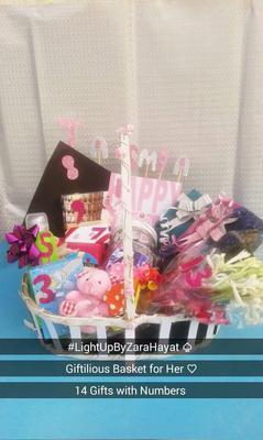 Gift Basket from Light-up by Zara Hayat